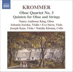 Krommer: Quartets and Quintets for Oboe & Strings