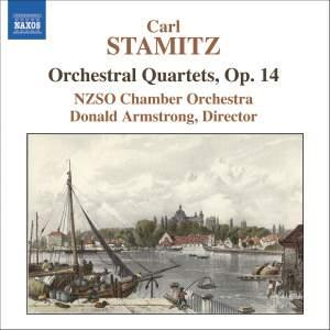 Stamitz - Orchestral Quartets, Op. 14 Product Image
