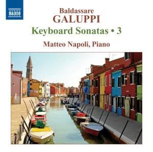 Galuppi: Keyboard Sonatas Volume 3 Product Image
