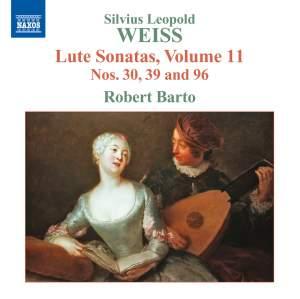 Weiss: Lute Sonatas Volume 11