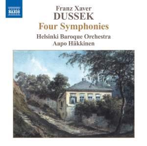 Xaver Dussek: Four Symphonies