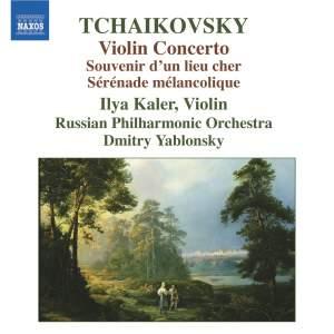 Tchaikovsky: Violin Concerto, Souvenir d'un lieu cher, Sérénade Mélancolique Product Image