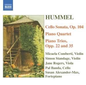 Hummel - Chamber Music Product Image