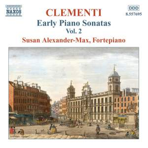 Clementi - Early Piano Sonatas Volume 2 Product Image