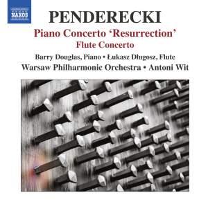 Penderecki: Piano Concerto 'Resurrection' & Flute Concerto
