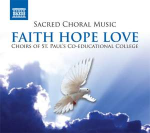 Sacred Choral Music - Faith Hope Love Product Image