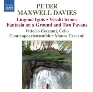 Maxwell Davies: Linguae Ignis & Vesalii Icones Product Image