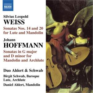 Weiss: Sonatas Nos. 14 & 20, Hoffmann: Sonatas in G major & D minor Product Image