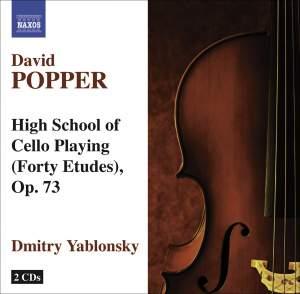 Popper: Hohe Schule des Violoncellospiels (40 etudes), Op. 73