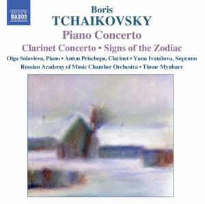 Boris Tchaikovsky: Piano Concerto, Clarinet Concerto, Signs of the Zodiac Product Image