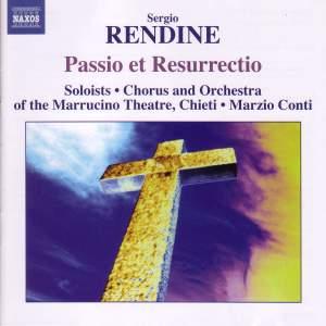 Sergio Rendine: Passio et Resurrectio Product Image