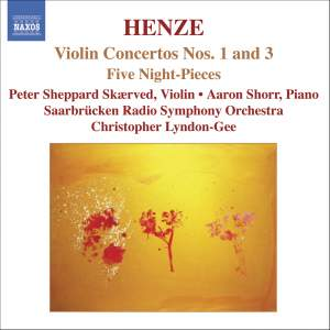Henze - Violin Concertos Nos. 1 and 3