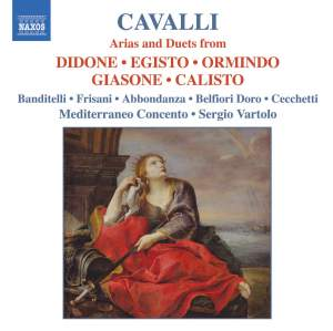 Cavalli: Arias and Duets from La Didone, L'Egisto, L'Ormindo, Il Giasone, La Calisto Product Image