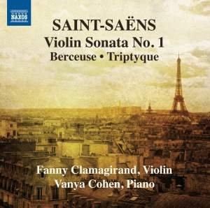 Saint-Saëns: Music for Violin and Piano, Vol. 1 Product Image