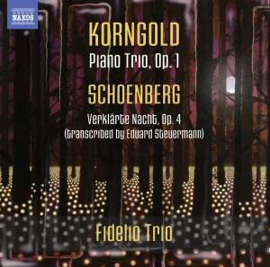 Korngold: Piano Trio, Op. 1 Product Image