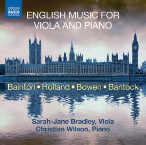 English Music for Viola and Piano Product Image