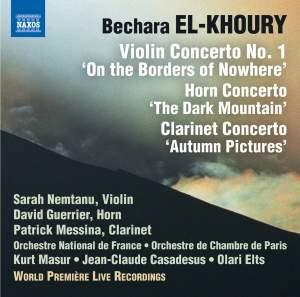 Bechara El-Khoury: Concertos