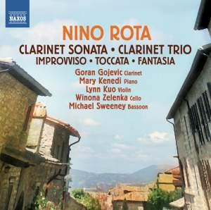 Nino Rota: Clarinet Sonata & Clarinet Trio