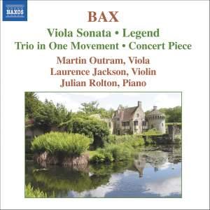 Bax: Viola Sonata, Legend, Trio in One Movement, Concerto Piece Product Image