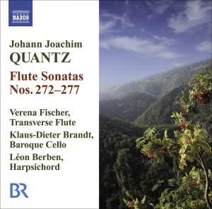 Quantz - Flute Sonatas Nos. 272-277 Product Image
