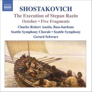 Shostakovich: The Execution of Stepan Razin, October & Fragments Product Image