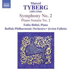 Marcel Tyberg: Symphony No. 2 & Piano Sonata No. 2 Product Image