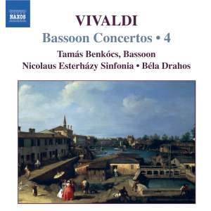 Vivaldi - Complete Bassoon Concertos Volume 4 Product Image