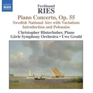 Ries - Piano Concertos Volume 2