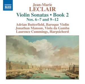 Leclair: Violin Sonatas, Book 2 Nos. 6–7 and 9–12