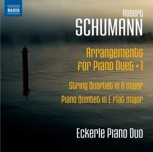Schumann: Arrangements for Piano Duet, Vol. 1