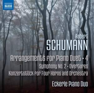 Schumann: Arrangements for Piano Duet, Vol. 4