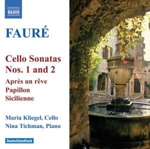 Fauré - Cello Sonatas Nos. 1 & 2 Product Image