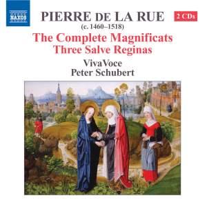 De La Rue - Magnificats & Salve Reginas Product Image