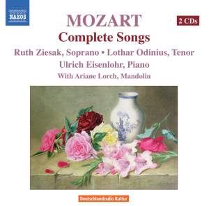 Mozart: Complete Songs Product Image