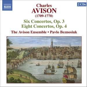 Avison: Six Concertos Op. 3 & Eight Concertos Op. 4