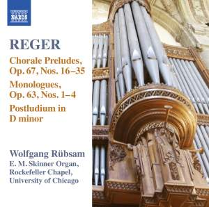 Reger - Organ Works Volume 15