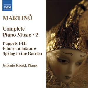 Martinu - Complete Piano Music Volume 2 Product Image