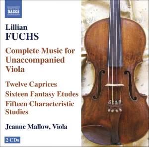 Lillian Fuchs - Complete Music for Unaccompanied Viola Product Image