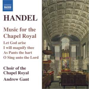 Handel - Music for the Chapel Royal Product Image