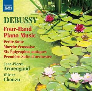 Debussy: Four-Hand Piano Music Product Image