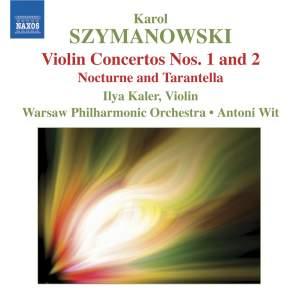 Szymanowski - Violin Concertos Nos. 1 and 2 Product Image