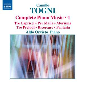 Togni: Complete Piano Music Volume 1 Product Image