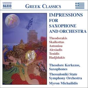 Impressions for Saxophone and Orchestra Product Image