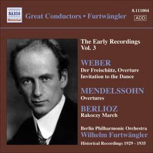 Furtwängler - The Early Recordings Voume 3 Product Image