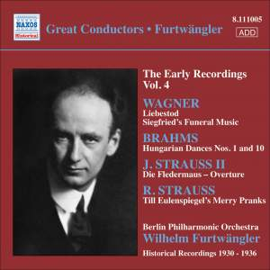 Furtwängler - The Early Recordings Volume 4