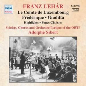Lehár: Le Tsarévitch (highlights), etc. Product Image