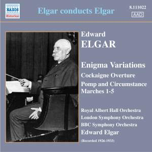 Elgar conducts Elgar Product Image