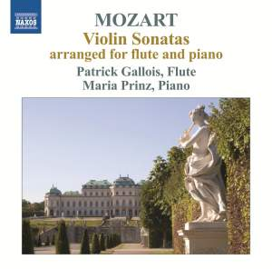 Mozart: Violin Sonatas (arranged for flute and piano) Product Image