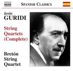 Jesús Guridi: String Quartets (Complete) Product Image