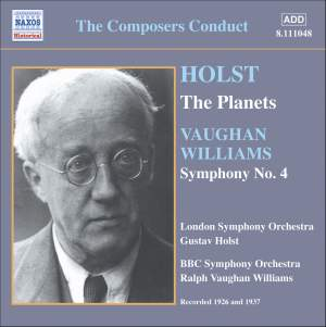 The Composers Conduct - Holst / Vaughan Williams Product Image